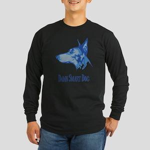 Doberman Pinscher Long Sleeve Dark T-Shirt