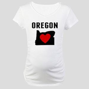 Oregon Maternity T-Shirt