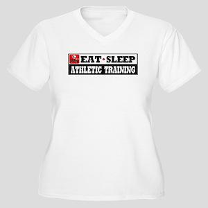 Athletic Training Women's Plus Size V-Neck T-Shirt