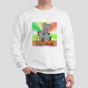 All Animals Need Love Sweatshirt