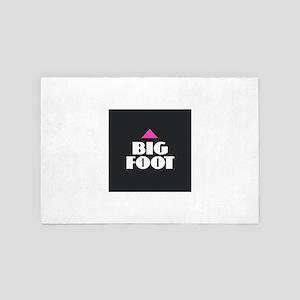 Bigfoot 4' x 6' Rug