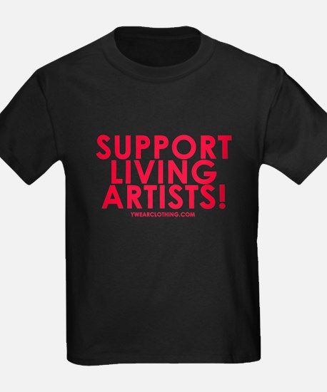 Support Living Artists T