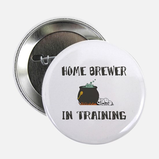Home Brewing Humor Button