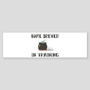Home Brewing Humor Bumper Sticker
