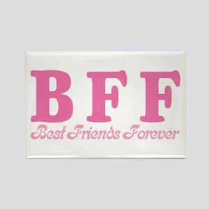 Best Friends Forever BFF Rectangle Magnet