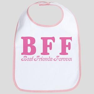 Best Friends Forever BFF Bib