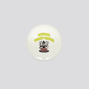 Thanksgiving - Official Turkey Carver Mini Button