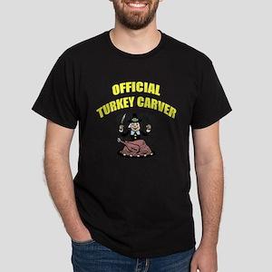 Thanksgiving - Official Turkey Carver Dark T-Shirt