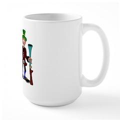 Thanksgiving Pilgrims Large Mug
