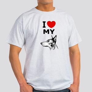 Doberman Pinscher Light T-Shirt