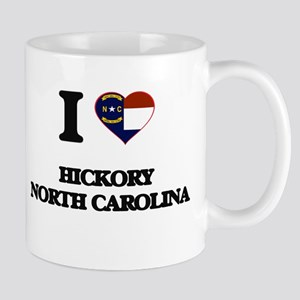 I love Hickory North Carolina Mugs