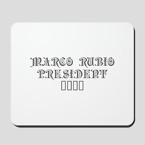 Marco Rubio President 2016-Pre gray 550 Mousepad