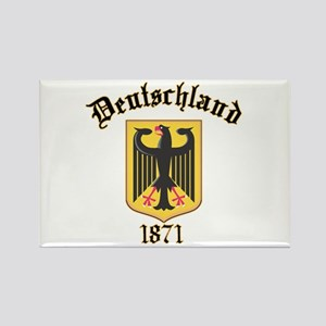 Deutschland Germany 1871 Rectangle Magnet