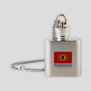 Mohawk Flask Necklace