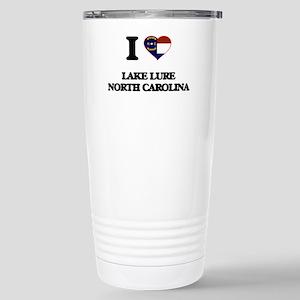 I love Lake Lure North Stainless Steel Travel Mug