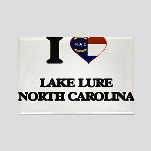 I love Lake Lure North Carolina Magnets