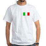 Flag/White T-Shirt