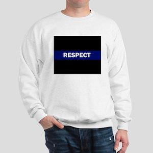 RESPECT BLUE Sweatshirt