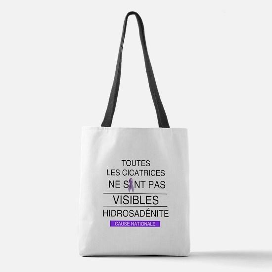 SOUTIEN HIDROSADÉNITE Polyester Tote Bag