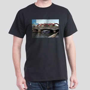 Bridge and boat, Guilin, China T-Shirt