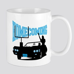 Homecoming Queen Blue Logo Mug