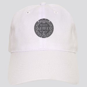 mayan calender dark Cap
