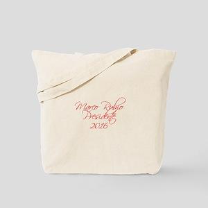 Marco Rubio Presidente 2016-Scr red 440 Tote Bag