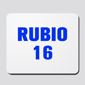 Rubio 16-Akz blue 500 Mousepad