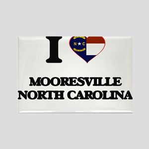 I love Mooresville North Carolina Magnets