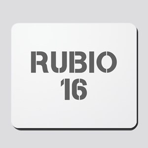 Rubio 16-Cle gray 500 Mousepad