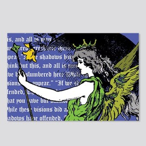 Eight The Fairy Queen Postcards
