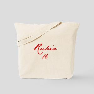 Rubio 16-Jan red 400 Tote Bag