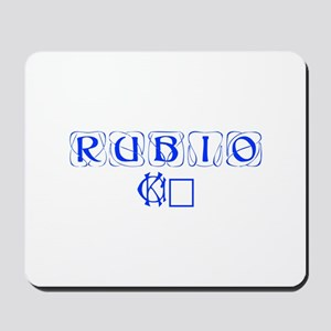 Rubio 16-Kon blue 460 Mousepad