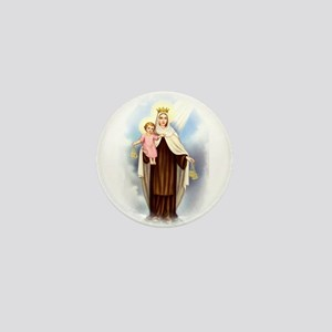 Mt Carmel Mini Button