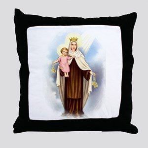 Mt Carmel Throw Pillow