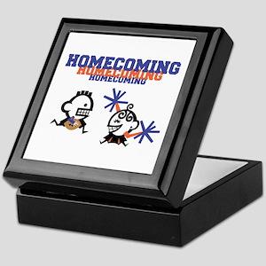 Homecoming Couple Keepsake Box