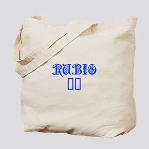 Rubio 16-Pre blue 550 Tote Bag