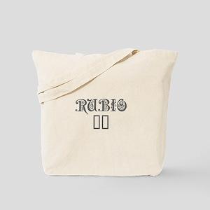 Rubio 16-Pre gray 550 Tote Bag