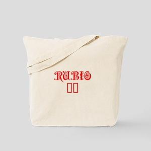 Rubio 16-Pre red 550 Tote Bag