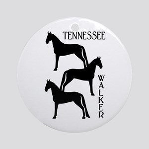 Tennessee Walkers Trio Ornament (Round)