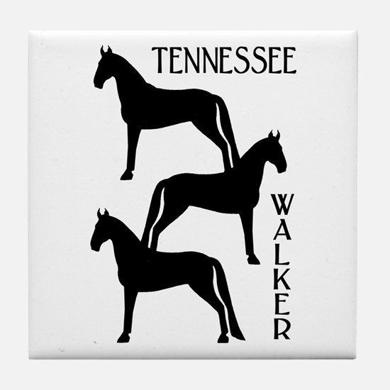 Tennessee Walkers Trio Tile Coaster