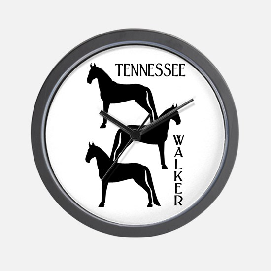 Tennessee Walkers Trio Wall Clock
