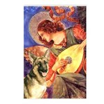 Mandolin Angel & G-Shep Postcards (Package of 8)