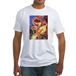 Mandolin Angel & G-Shep Fitted T-Shirt