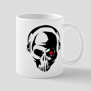 Terminator Dj Skull Dubstep Cyber Punk Hardco Mugs