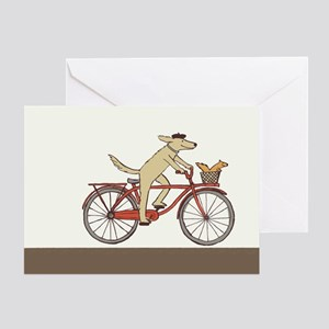 """Dog and Squirrel"" Thank You Card"