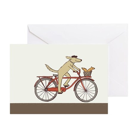 """""""Dog and Squirrel"""" Thank You Card"""