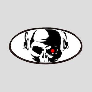 Terminator Dj Skull Dubstep Cyber Punk Hardc Patch