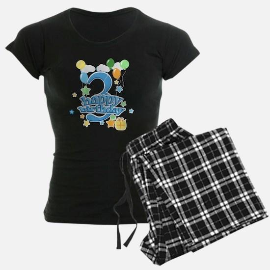 3rd Birthday with Balloons - Pajamas