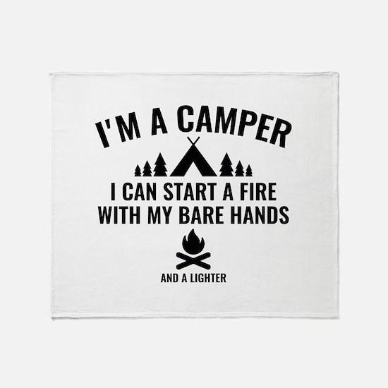 I'm A Camper Stadium Blanket